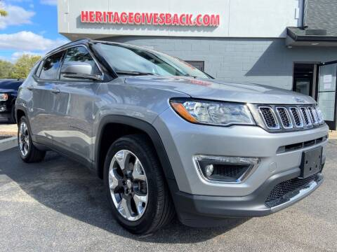 2018 Jeep Compass for sale at Heritage Automotive Sales in Columbus in Columbus IN