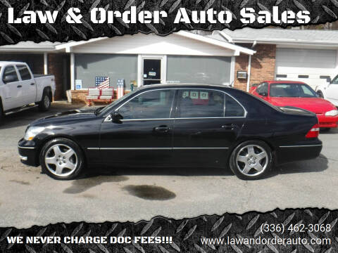 2006 Lexus LS 430 for sale at Law & Order Auto Sales in Pilot Mountain NC