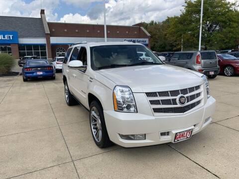 2014 Cadillac Escalade for sale at Ganley Chevy of Aurora in Aurora OH
