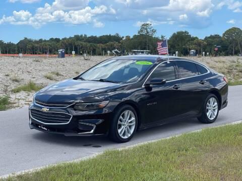 2016 Chevrolet Malibu for sale at GENESIS AUTO SALES in Port Charlotte FL