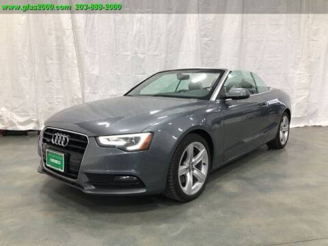 2013 Audi A5 for sale at Green Light Auto Sales LLC in Bethany CT