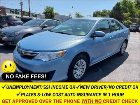 2012 Toyota Camry for sale at AUTOFYND in Elmont NY