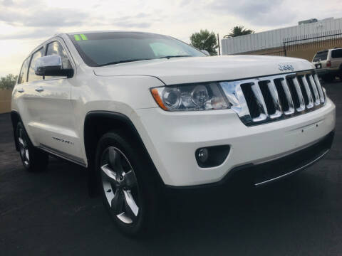 2011 Jeep Grand Cherokee for sale at GALAXY MOTORS in Tucson AZ