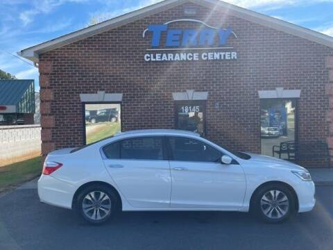 2014 Honda Accord for sale at Terry Clearance Center in Lynchburg VA