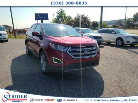 2017 Ford Edge for sale at STRIDER BUICK GMC SUBARU in Asheboro NC