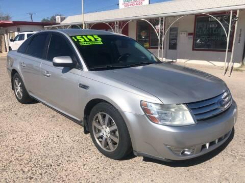 2008 Ford Taurus for sale at Senor Coche Auto Sales in Las Cruces NM