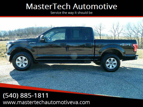 2016 Ford F-150 for sale at MasterTech Automotive in Staunton VA