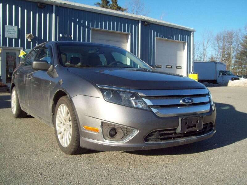 2011 Ford Fusion Hybrid for sale at Frank Coffey in Milford NH