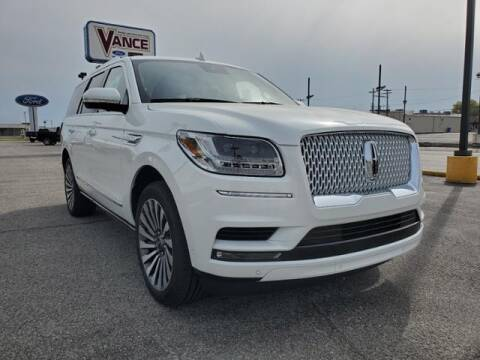 2021 Lincoln Navigator for sale at Vance Fleet Services in Guthrie OK