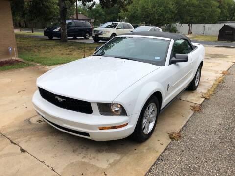 2008 Ford Mustang for sale at John 3:16 Motors in San Antonio TX