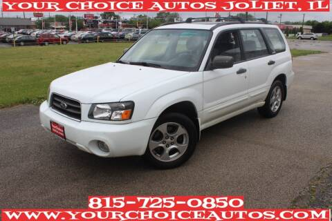 2004 Subaru Forester for sale at Your Choice Autos - Joliet in Joliet IL