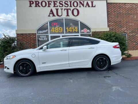 2015 Ford Fusion Energi for sale at Professional Auto Sales & Service in Fort Wayne IN