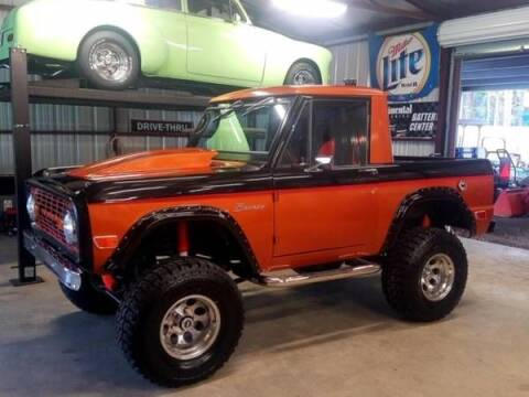 1969 Ford Bronco for sale at Classic Car Deals in Cadillac MI