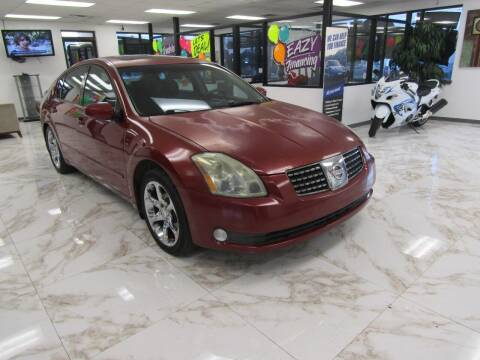2004 Nissan Maxima for sale at Dealer One Auto Credit in Oklahoma City OK