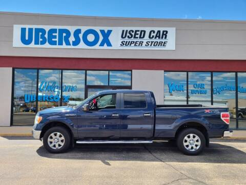 2013 Ford F-150 for sale at Ubersox Used Car Superstore in Monroe WI