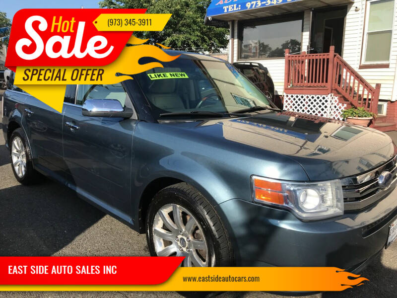 2010 Ford Flex for sale at EAST SIDE AUTO SALES INC in Paterson NJ