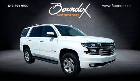 2017 Chevrolet Tahoe for sale at Boondox Motorsports in Caledonia MI