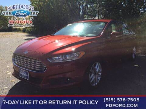 2014 Ford Fusion for sale at Fort Dodge Ford Lincoln Toyota in Fort Dodge IA