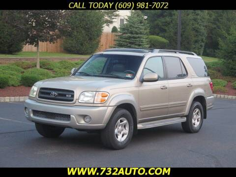 2002 Toyota Sequoia for sale at Absolute Auto Solutions in Hamilton NJ
