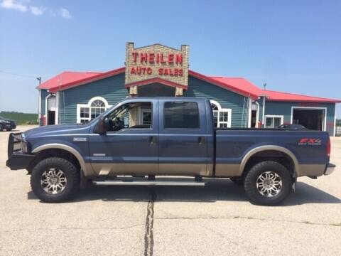 2007 Ford F-250 Super Duty for sale at THEILEN AUTO SALES in Clear Lake IA