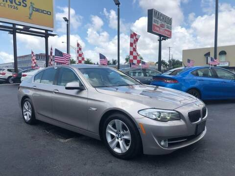 2013 BMW 5 Series for sale at MACHADO AUTO SALES in Miami FL