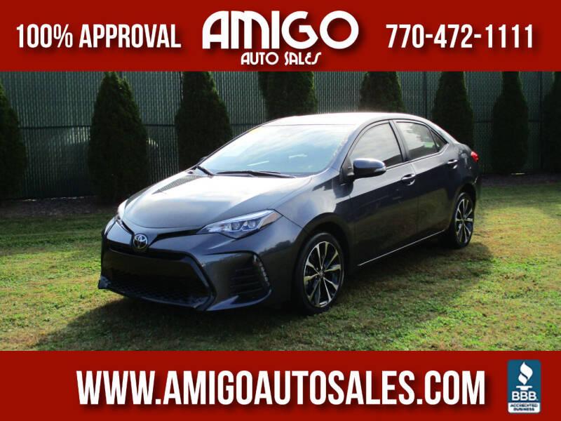 2019 Toyota Corolla for sale at Amigo Auto Sales in Marietta GA