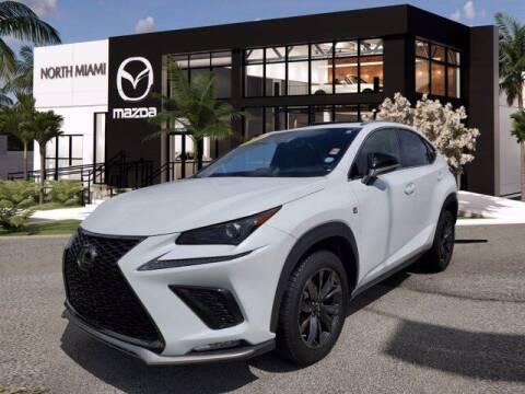 2020 Lexus NX 300 for sale at Mazda of North Miami in Miami FL