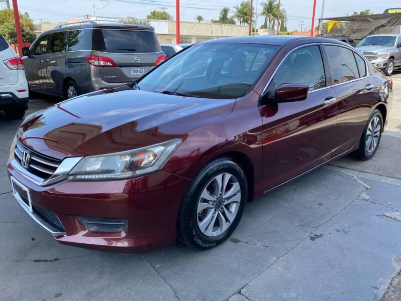 2015 Honda Accord for sale at Auto Emporium in Wilmington CA