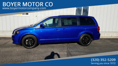 2019 Dodge Grand Caravan for sale at BOYER MOTOR CO in Sauk Centre MN