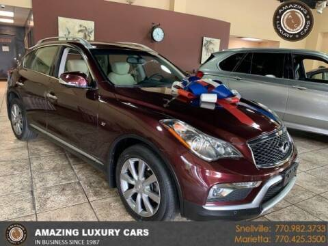 2017 Infiniti QX50 for sale at Amazing Luxury Cars in Snellville GA