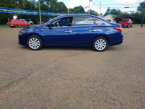 2017 Nissan Sentra for sale at Frontline Auto Sales in Martin TN
