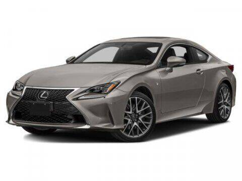 2018 Lexus RC 350 for sale at STG Auto Group in Montclair CA