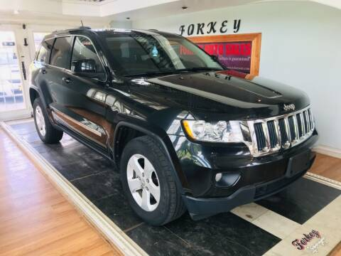 2013 Jeep Grand Cherokee for sale at Forkey Auto & Trailer Sales in La Fargeville NY