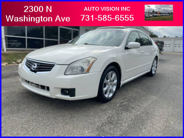 2008 Nissan Maxima for sale at Auto Vision Inc. in Brownsville TN
