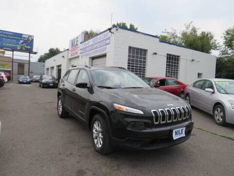 2016 Jeep Cherokee for sale at Nile Auto Sales in Denver CO