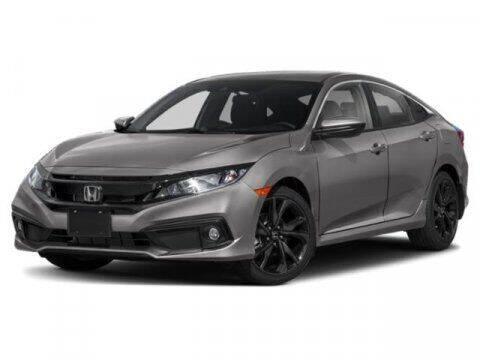 2019 Honda Civic for sale at HILAND TOYOTA in Moline IL
