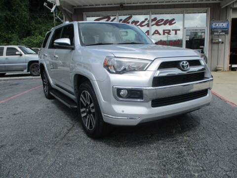 2016 Toyota 4Runner for sale at Hibriten Auto Mart in Lenoir NC