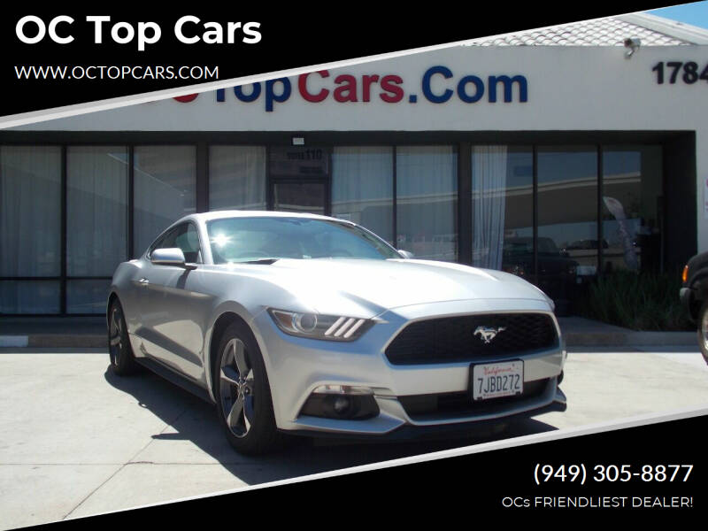 2015 Ford Mustang for sale at OC Top Cars in Irvine CA