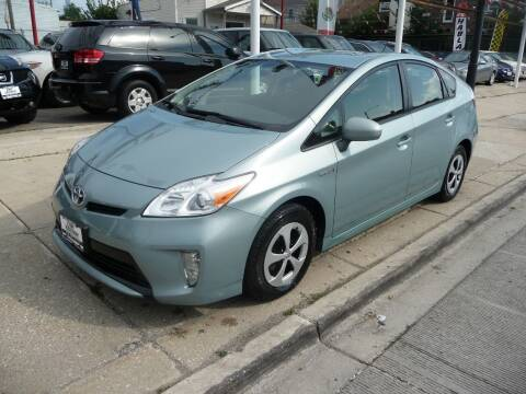2014 Toyota Prius for sale at CAR CENTER INC in Chicago IL