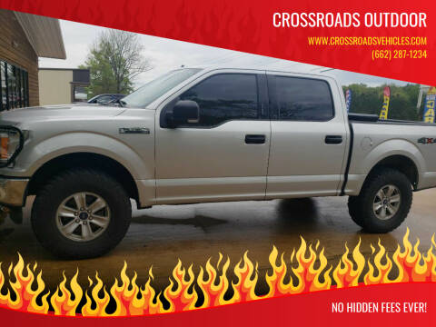 2019 Ford F-150 for sale at Crossroads Outdoor in Corinth MS