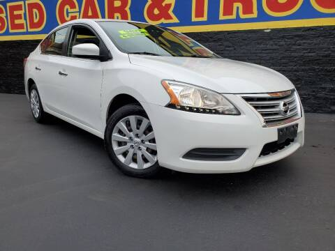 2014 Nissan Sentra for sale at B & R Motor Sales in Chicago IL