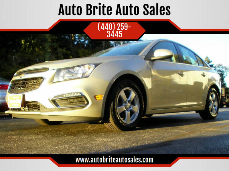 2015 Chevrolet Cruze 1LT Auto 4dr Sedan w/1SD - Perry OH