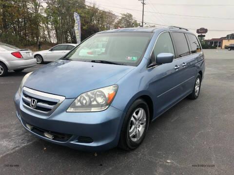 2007 Honda Odyssey for sale at DCMotors LLC in Mount Joy PA