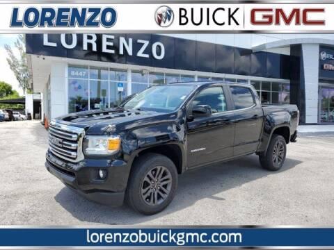 2018 GMC Canyon for sale at Lorenzo Buick GMC in Miami FL