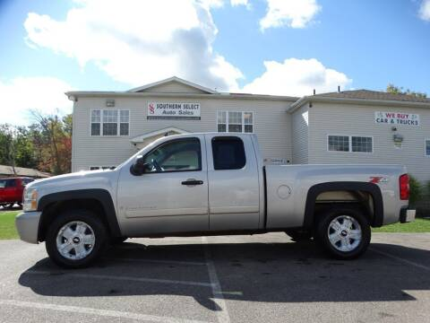 2007 Chevrolet Silverado 1500 for sale at SOUTHERN SELECT AUTO SALES in Medina OH