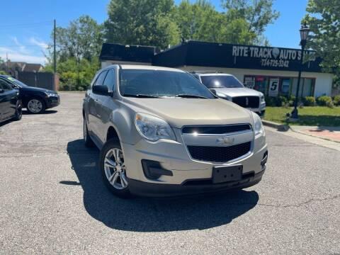 2012 Chevrolet Equinox for sale at Rite Track Auto Sales in Canton MI