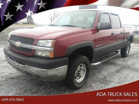 2004 Chevrolet Silverado 2500HD for sale at Ada Truck Sales in Ada OH