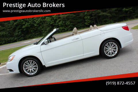 2011 Chrysler 200 Convertible for sale at Prestige Auto Brokers in Raleigh NC