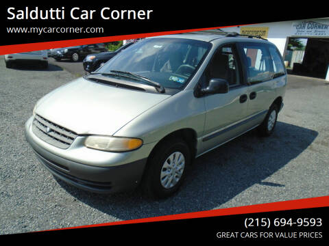2000 Plymouth Voyager for sale at Saldutti Car Corner in Gilbertsville PA