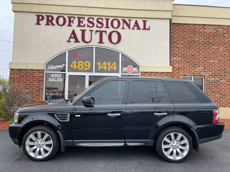2009 Land Rover Range Rover Sport for sale at Professional Auto Sales & Service in Fort Wayne IN